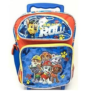 Paw Patrol Is On A Roll! Small Toddler Rolling Bag